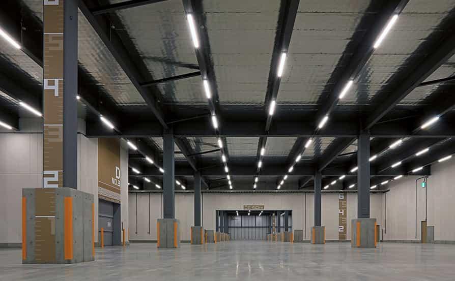 倉庫機能を可視化したデザイン