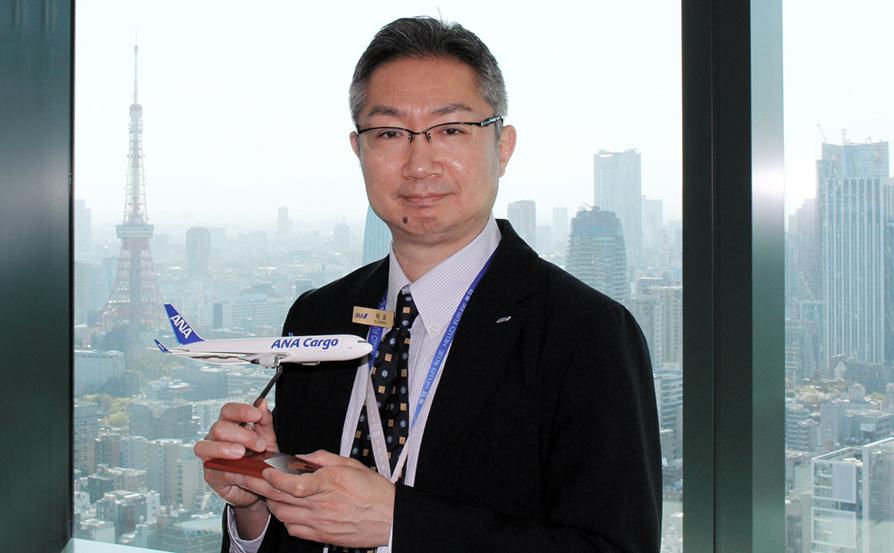 株式会社ANA Cargo グローバルセールス部 営業推進課 課長 相良 孝輔 (さがら こうすけ) 氏