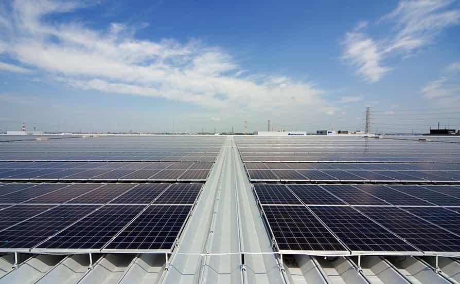 太陽光発電設備の導入