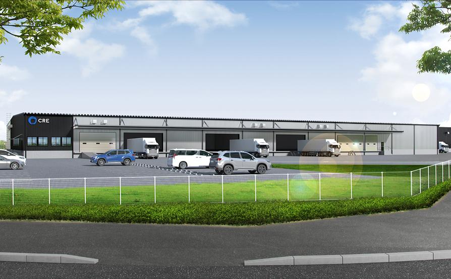 EC物流企業向けBTS型倉庫開発着手に関するお知らせ