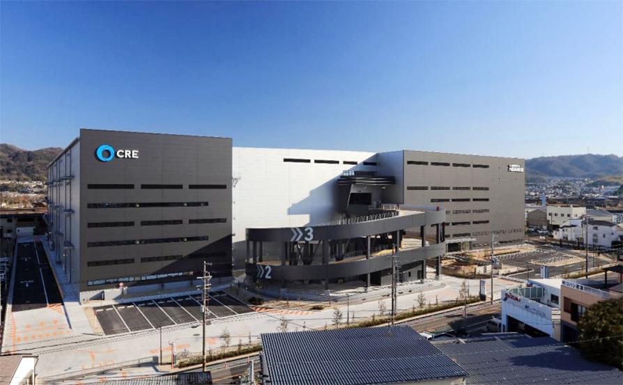 マルチテナント型物流施設「ロジスクエア大阪交野」 竣工