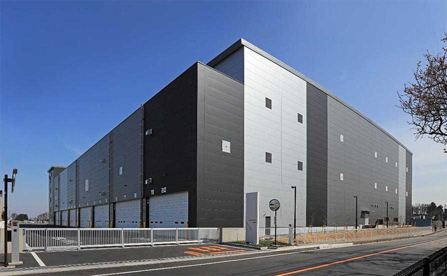 物流施設「ロジスクエア三芳Ⅱ」竣工